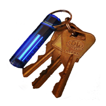 Glow Ring Key Tags